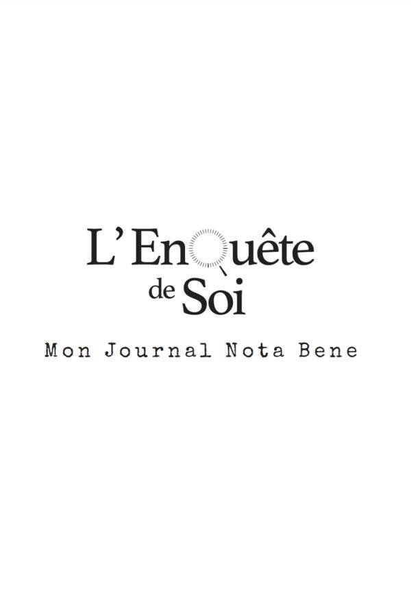 EnQuête de soi Journal Nota Bene couverture